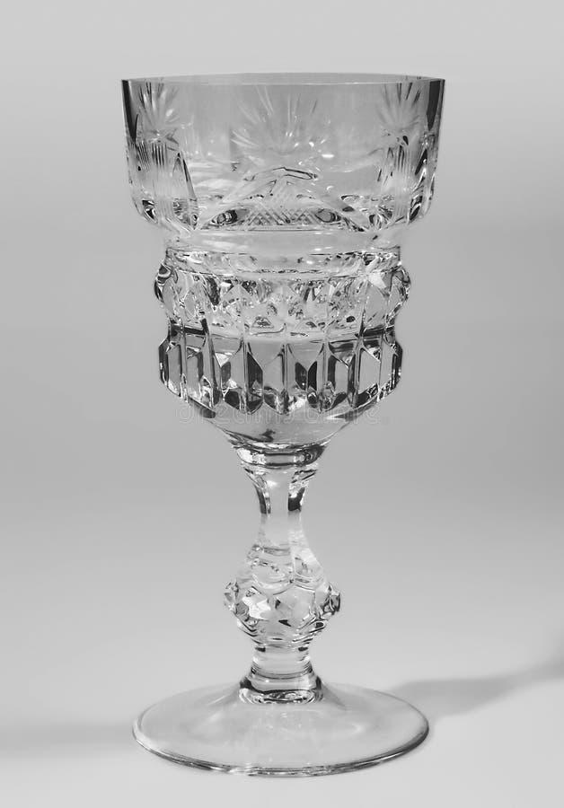 Vidro de Cristal fotografia de stock royalty free