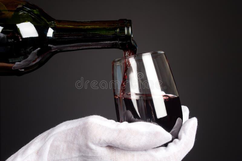 Download Vidro De Derramamento Do Vinho Foto de Stock - Imagem de horizontal, moody: 16860934