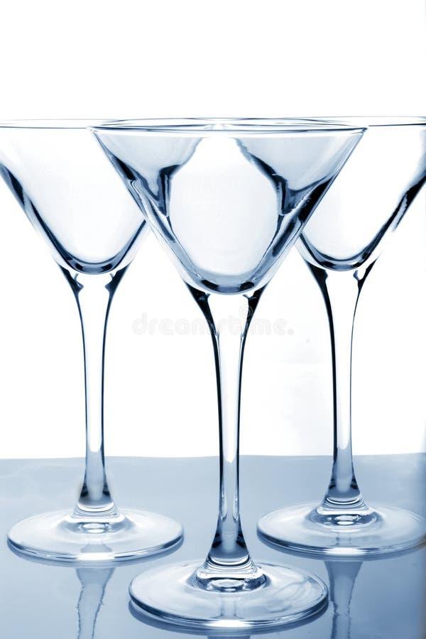 Vidro de Martini imagens de stock