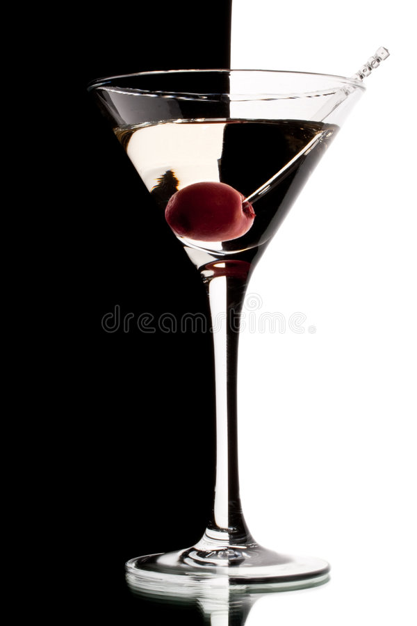 Vidro de Martini imagens de stock royalty free