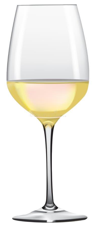 Vidro de vinho 3 ilustração stock