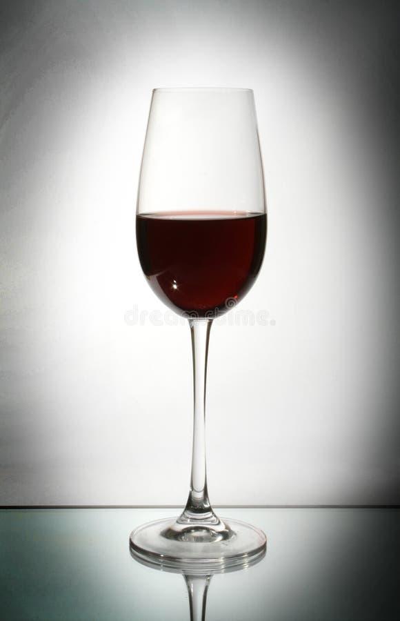 Vidro de vinho fotografia de stock