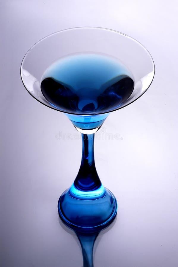 Vidro de vinho cintilante foto de stock