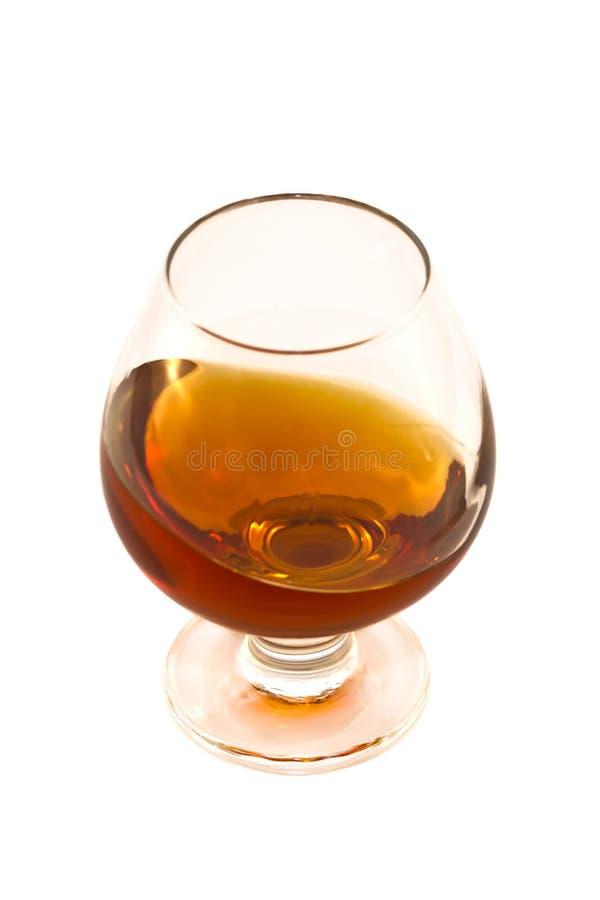 Vidro de vinho com álcool fotografia de stock
