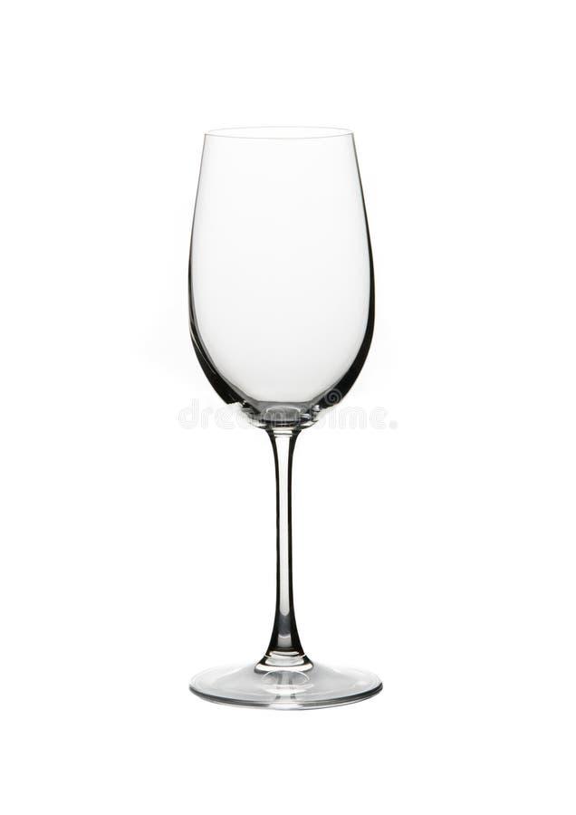 Vidro de vinho em um fundo branco foto de stock
