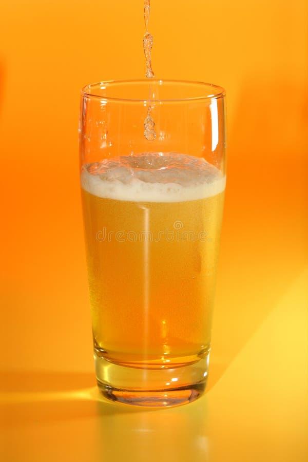 Vidro do bier. fotografia de stock