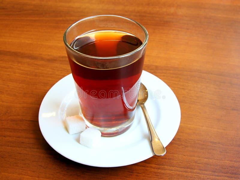 Vidro do chá; XLarge fotografia de stock