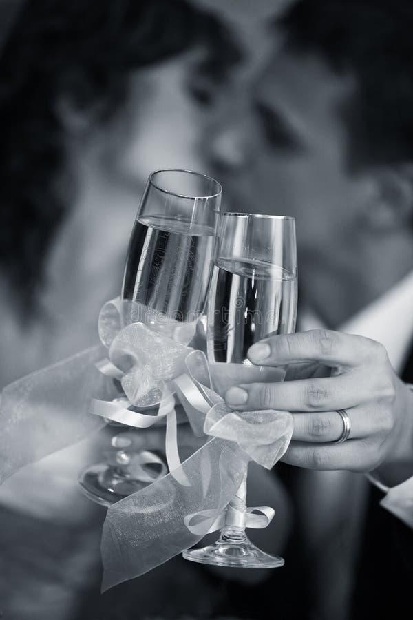 Vidro do champanhe fotos de stock
