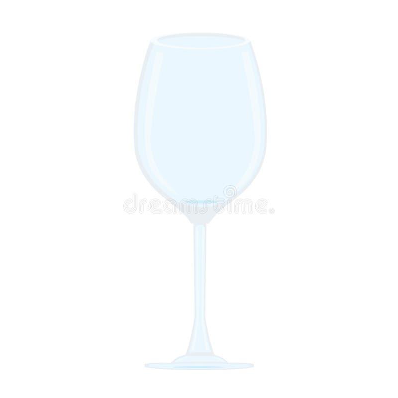 Vidro do champanhe ilustração stock