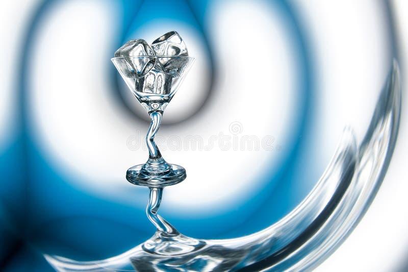 Vidro do cocktail congelado foto de stock royalty free