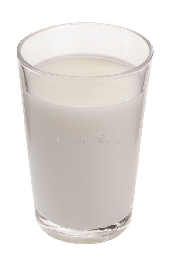Vidro do leite imagem de stock