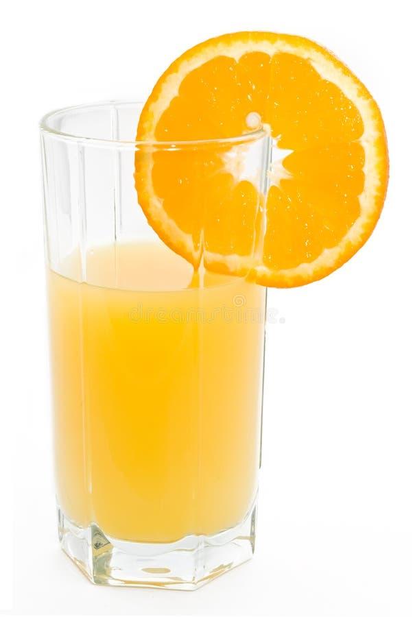 Vidro do sumo de laranja foto de stock royalty free
