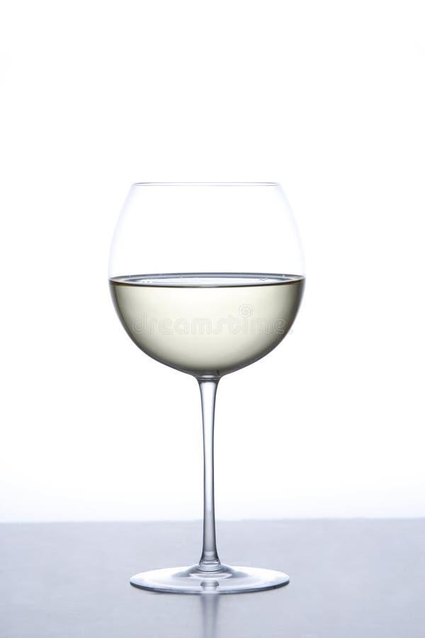 Vidro do vinho branco fotos de stock