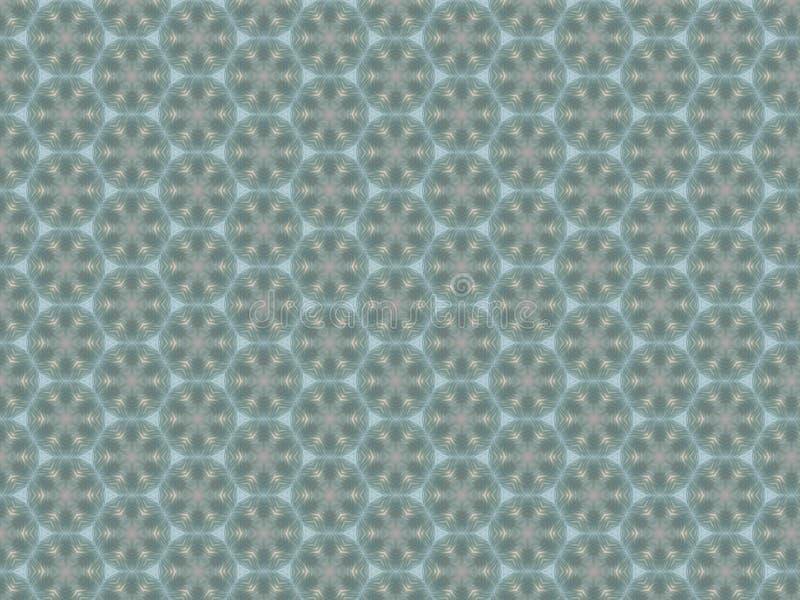 Vidro semi transparente ondulado fascinante do plástico do teste padrão geométrico de Absract com um teste padrão ilustração do vetor