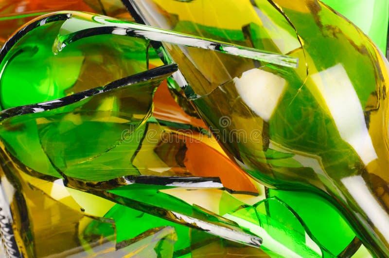 Vidro Waste. Recicl. fotos de stock