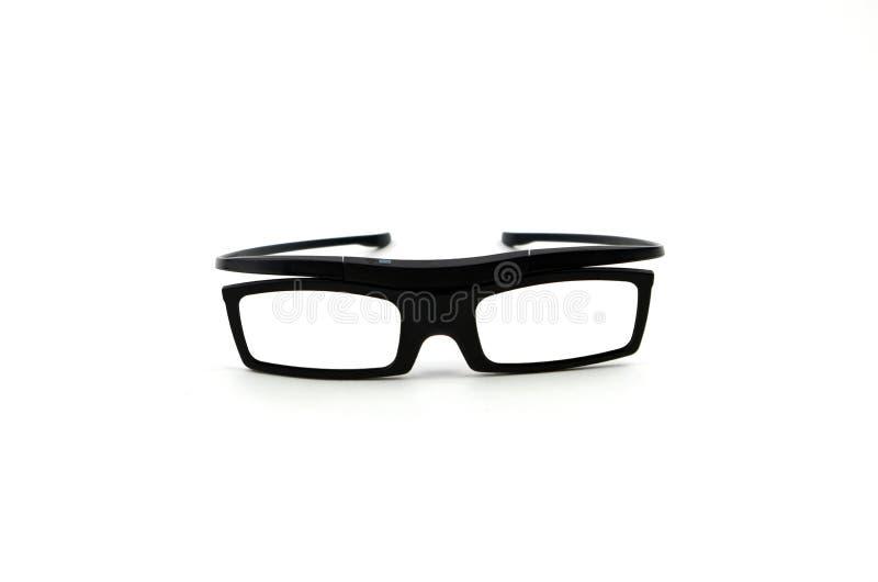 vidros 3D imagem de stock