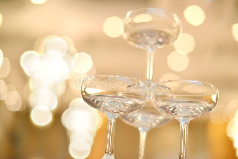 Vidros de Champagne imagem de stock royalty free