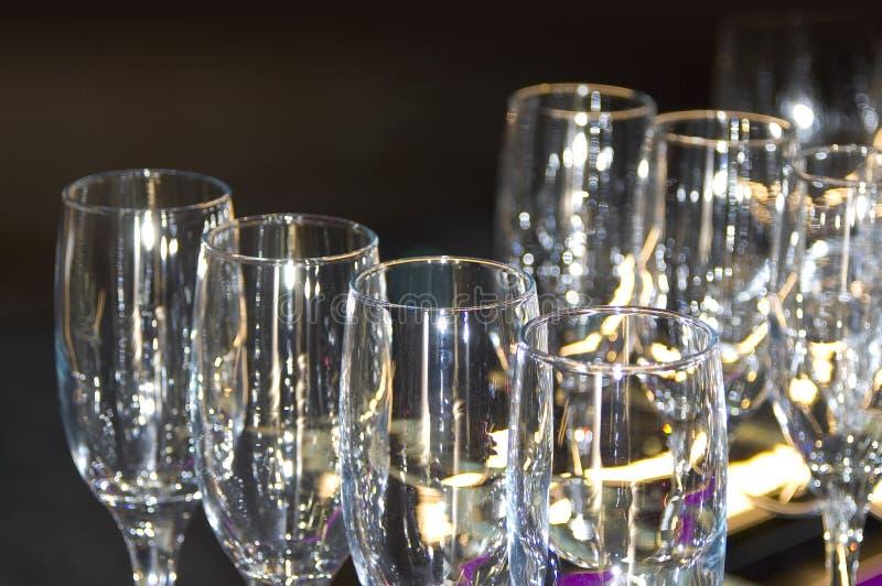 Download Vidros de Champagne foto de stock. Imagem de glitter, limpo - 69574