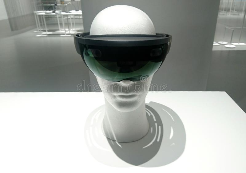 Vidros de VR fotografia de stock royalty free
