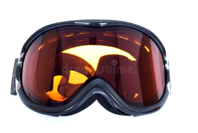 Vidros do esqui foto de stock
