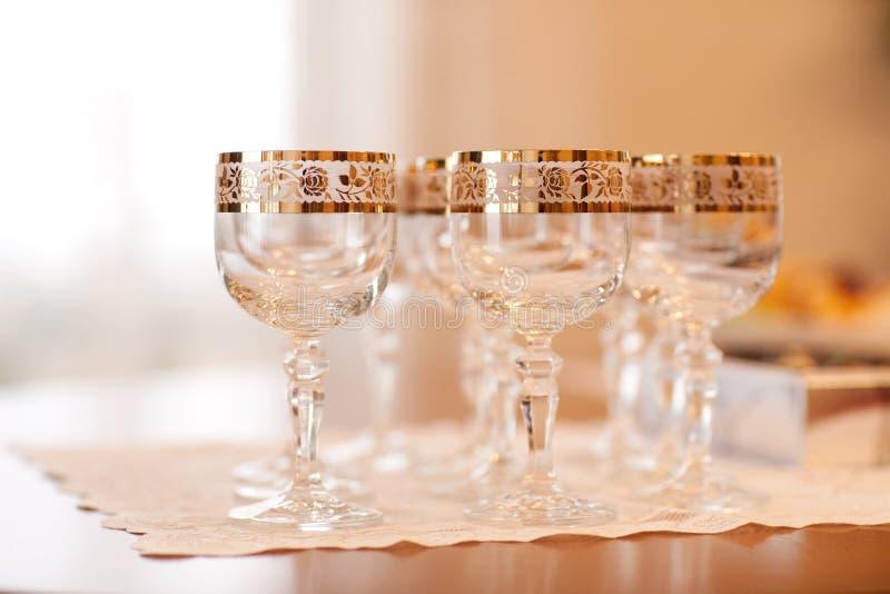 Vidros do feriado fotografia de stock royalty free