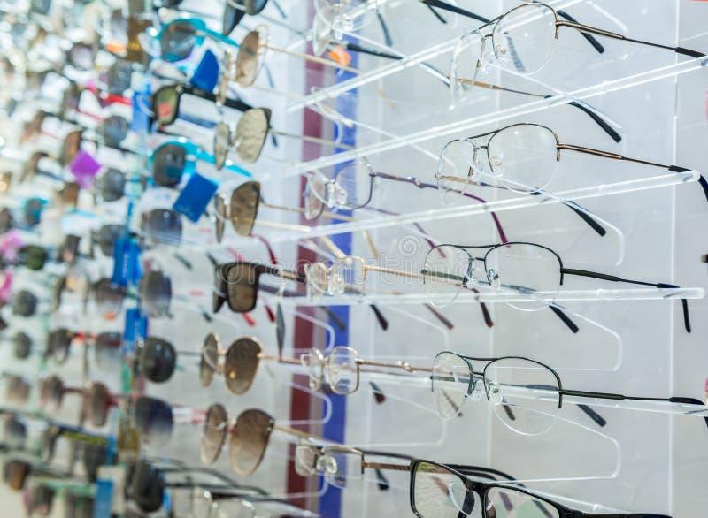 Vidros do olho no suporte foto de stock royalty free