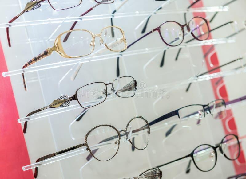 Vidros do olho no suporte imagem de stock royalty free