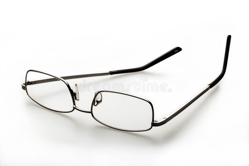 Vidros do olho roxo no branco imagem de stock