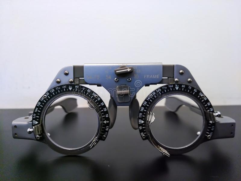 Vidros experimentais imagem de stock royalty free