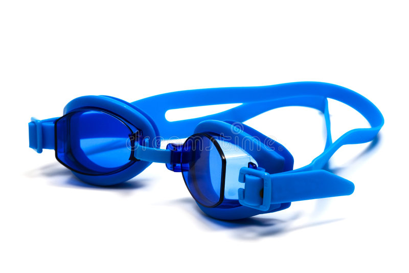 Vidros para a natação fotografia de stock royalty free