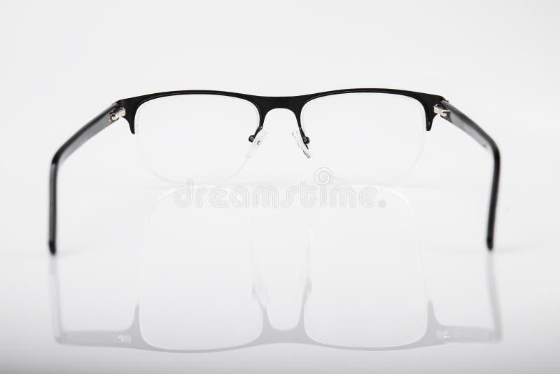 Vidros pretos do ótico imagem de stock