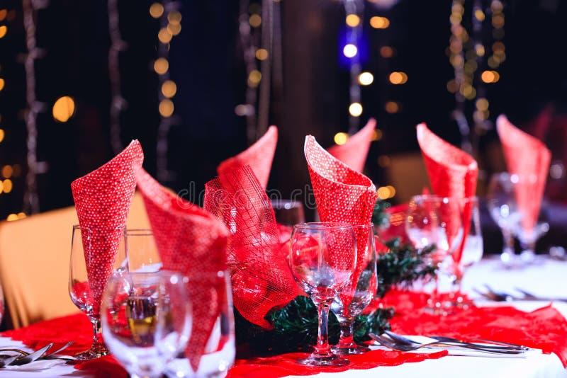 Vidros vazios ajustados foto de stock royalty free