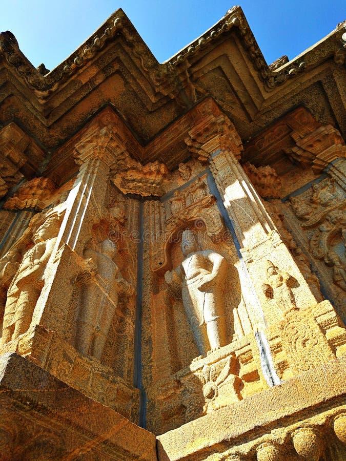 Vidyashankara-tempel van Sringeri royalty-vrije stock foto