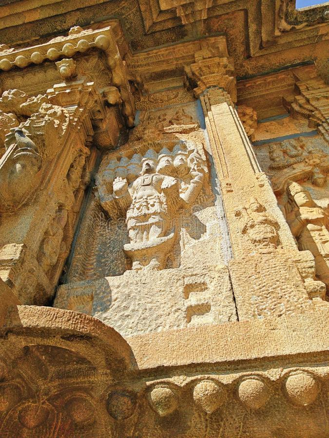 Vidyashankara-tempel van Sringeri royalty-vrije stock fotografie