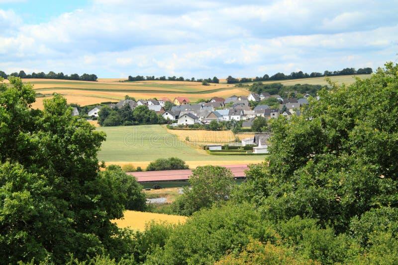 Vie à la campagne et villages photo stock