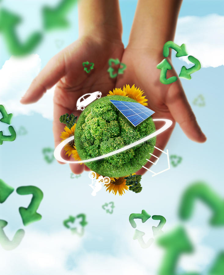 Vie d'Eco photographie stock libre de droits