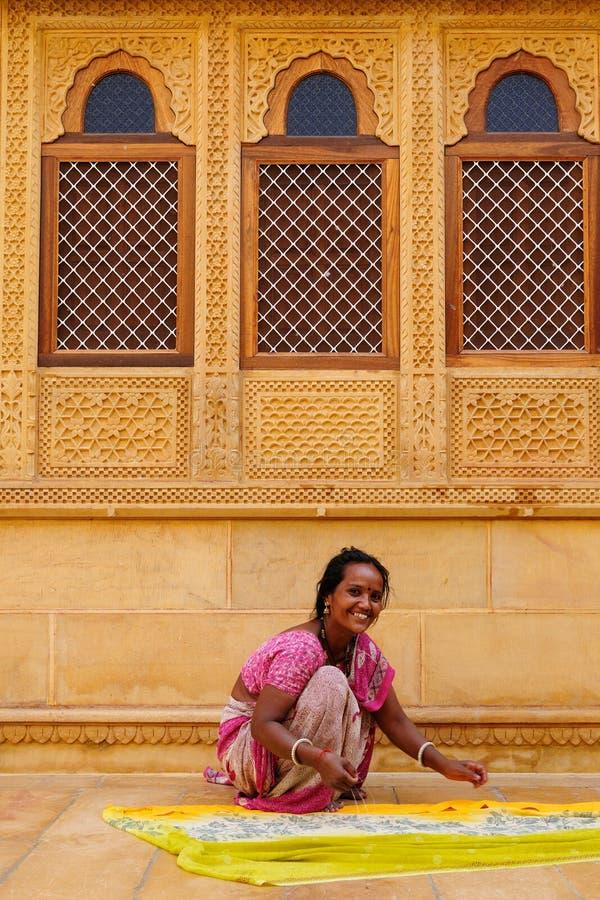 Vie dans la rue d'Inde photo libre de droits