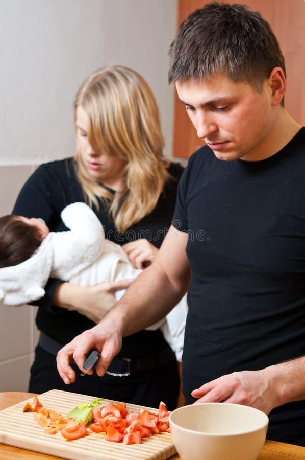 Vie de famille photographie stock