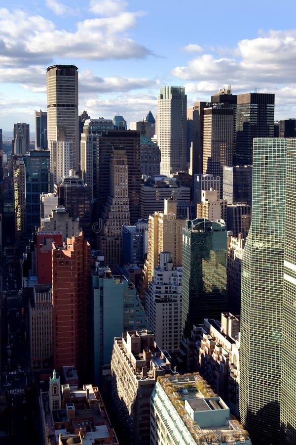 Vie de Manhattan images libres de droits