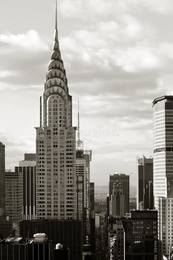 Vie de Manhattan image libre de droits
