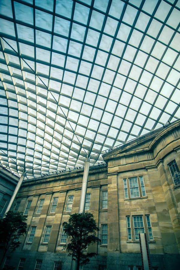 Vie della città di DC di Washington ed architettura storica fotografie stock libere da diritti
