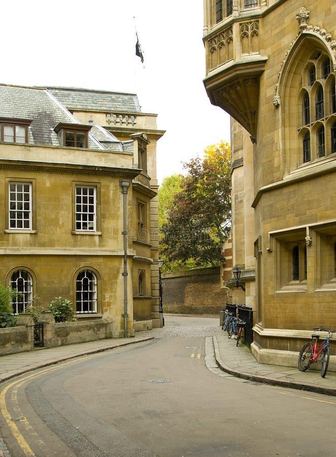 Vie di Cambridge fotografia stock libera da diritti