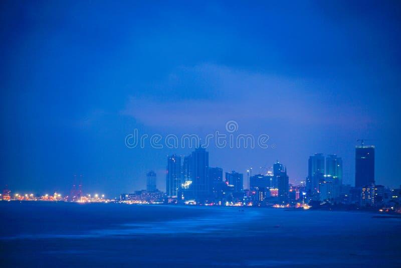 Vie di Colombo, Sri Lanka immagini stock libere da diritti