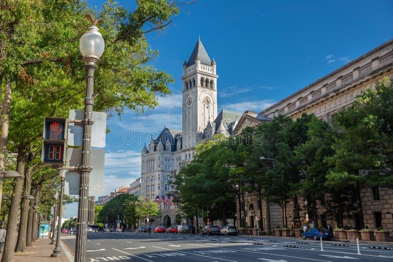Vie di DC di Washington fotografia stock libera da diritti