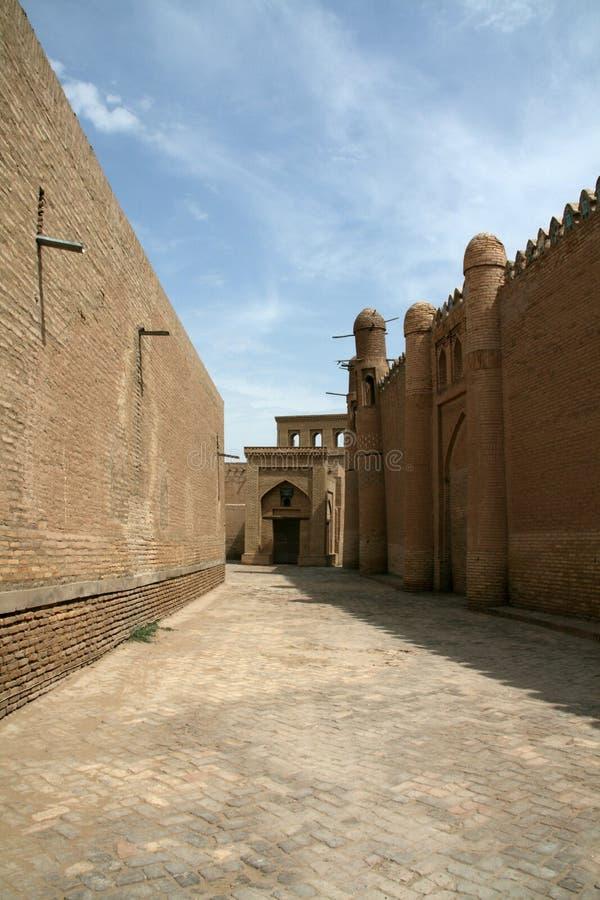Vie di Khiva fotografia stock