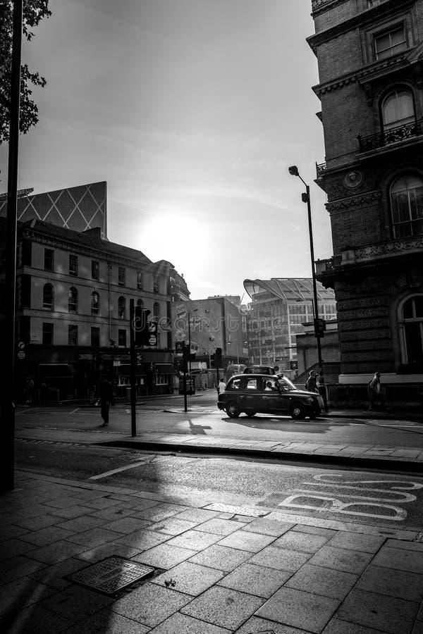Vie di Londra fotografie stock libere da diritti