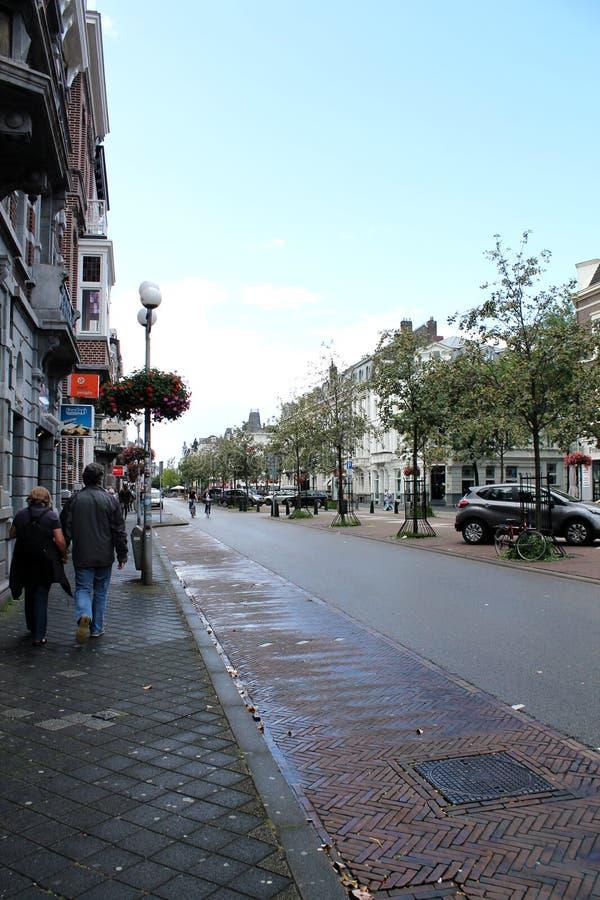 Vie di Maastricht immagine stock libera da diritti