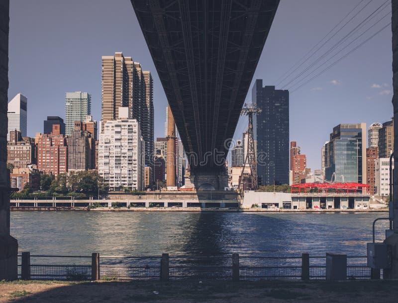 Vie di New York City immagini stock libere da diritti