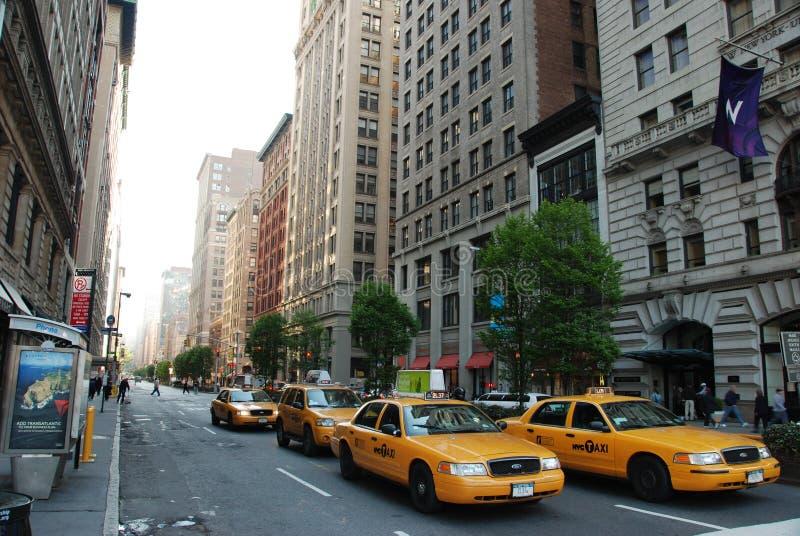 Vie di New York City fotografie stock libere da diritti