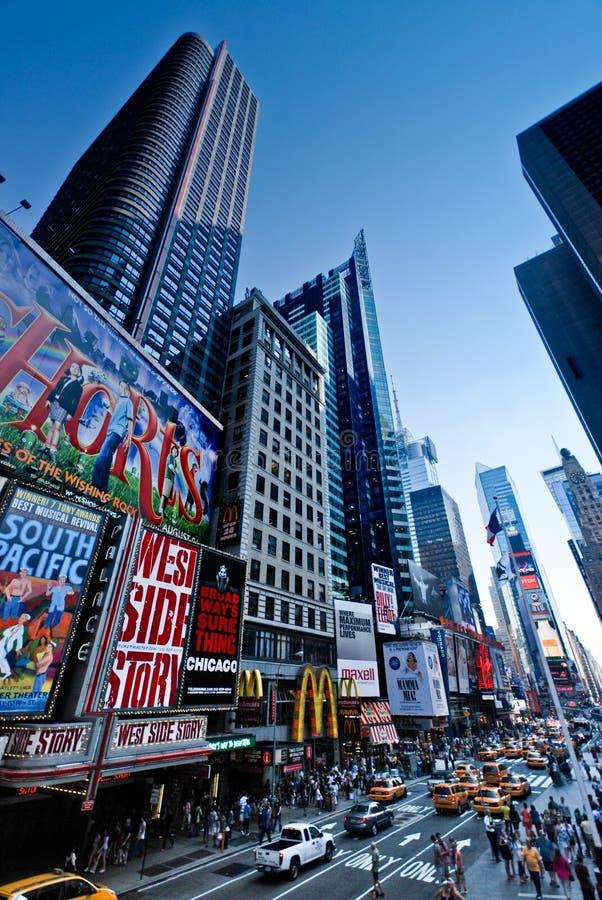 Vie di New York City immagini stock